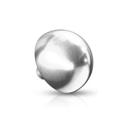 Kuppelförmiges Dermal aus 14 Karat Gold